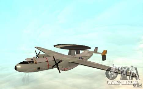 E-C2 Hawkeye pour GTA San Andreas laissé vue