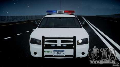 Dodge Charger US Border Patrol CHGR-V2.1M [ELS] pour GTA 4 vue de dessus