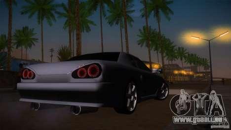 Elegy Drift für GTA San Andreas Seitenansicht