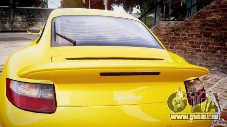 Porsche 911 (997) Turbo v1.0 für GTA 4 Seitenansicht