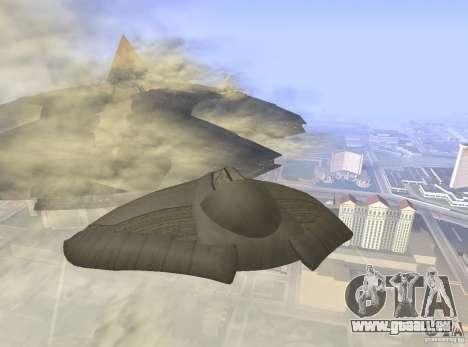 Death Glider für GTA San Andreas rechten Ansicht