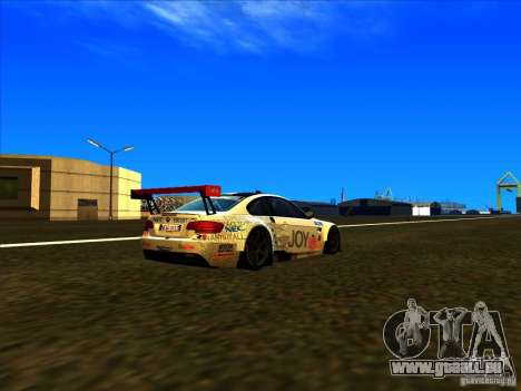 BMW M3 GT ALMS GT2 Series für GTA San Andreas linke Ansicht