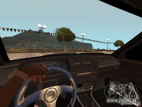 ВАЗ 2114 BÊTE pour GTA San Andreas sur la vue arrière gauche