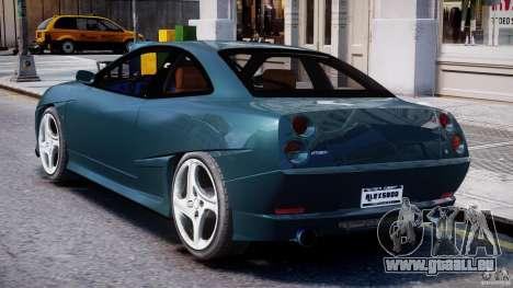 Fiat Coupe 2000 pour GTA 4 est un droit