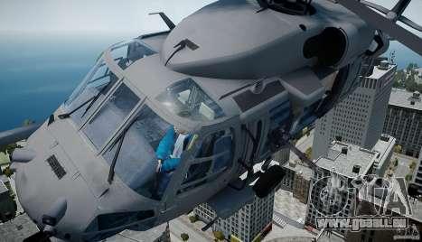 HH-60G Pavehawk pour GTA 4 Vue arrière de la gauche