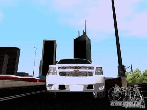 Chevrolet Tahoe LTZ 2013 für GTA San Andreas Seitenansicht