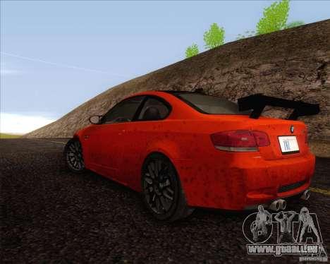 BMW M3 GT-S für GTA San Andreas rechten Ansicht