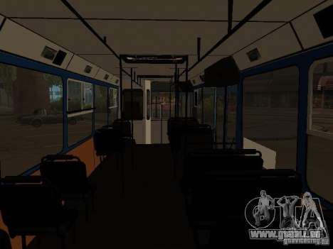 YAZ 5267 für GTA San Andreas Rückansicht