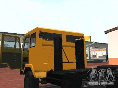 KAZ 608V für GTA San Andreas Rückansicht