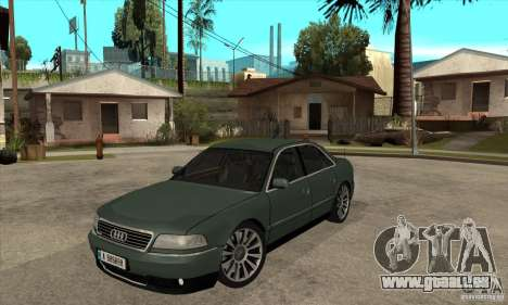 Audi A8 Long 6.0 2000 pour GTA San Andreas