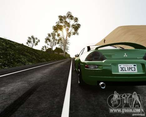 Mitsubishi Eclipse GT-S pour GTA 4 Vue arrière de la gauche