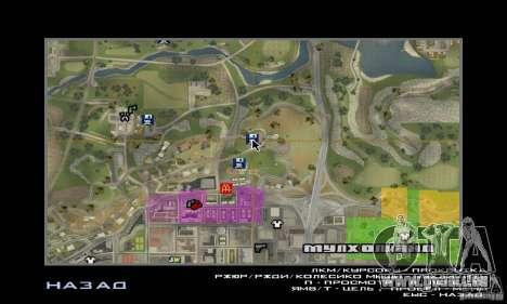 Neue Texturen Interior für sichere Unterschlüpfe für GTA San Andreas fünften Screenshot