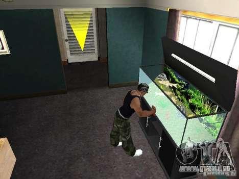 Aquarium pour GTA San Andreas septième écran