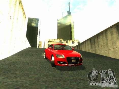 Audi TT 2009 v2.0 pour GTA San Andreas laissé vue