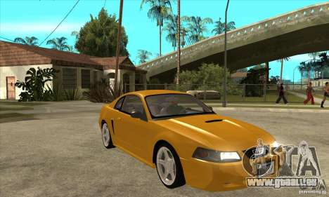 Ford Mustang GT 1999 - Stock pour GTA San Andreas vue arrière