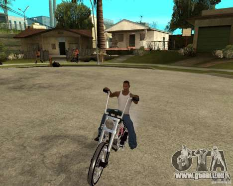 C&C chopeur für GTA San Andreas Rückansicht