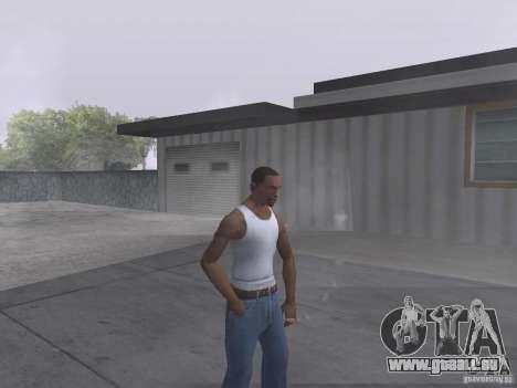 La capacité à fumer pour GTA San Andreas deuxième écran