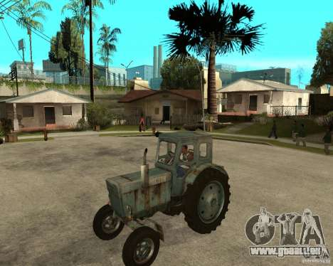 Traktor Т-40М für GTA San Andreas