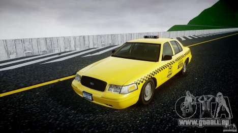 Ford Crown Victoria Raccoon City Taxi pour GTA 4