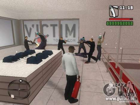Gangs mod pour GTA San Andreas