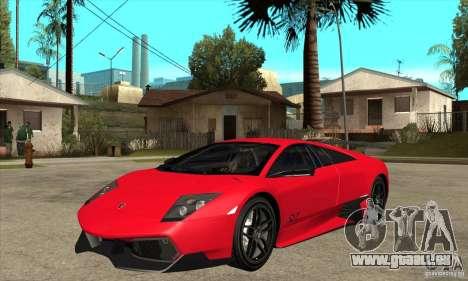 Lamborghini Gallardo LP570-4 SV pour GTA San Andreas