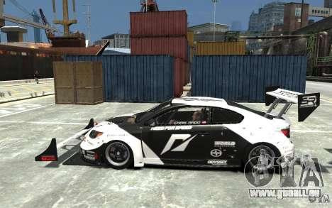 Scion tC AWD V1.0 für GTA 4 linke Ansicht