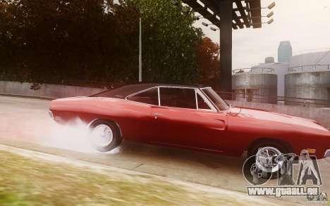 Dodge Charger 440 1969 pour GTA 4 est une gauche