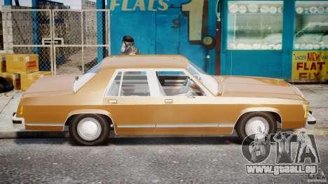 Ford Crown Victoria 1983 für GTA 4 linke Ansicht