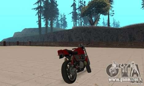 IZH Planeta 5 pour GTA San Andreas laissé vue