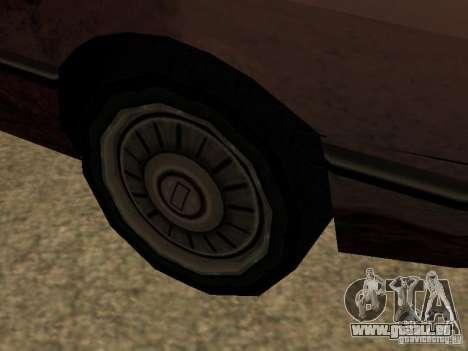 Dommages réalistes pour GTA San Andreas cinquième écran