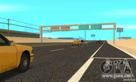Eine neue Straße (Oberfläche) für GTA San Andreas