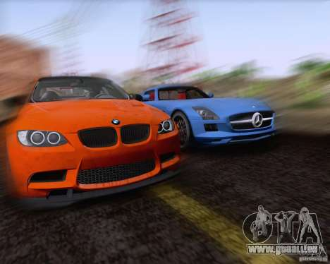 BMW M3 GT-S Fixed Edition für GTA San Andreas Innenansicht