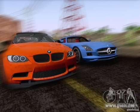 BMW M3 GT-S Fixed Edition pour GTA San Andreas vue intérieure