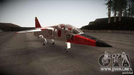 Mitsubishi T-2 für GTA San Andreas Rückansicht