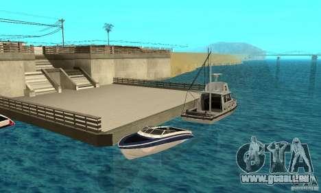 GTAIV Tropic pour GTA San Andreas vue de dessous