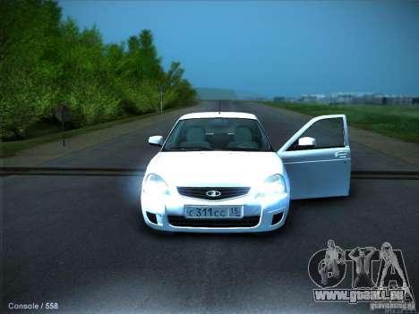 LADA 2170 KTA pour GTA San Andreas vue de côté