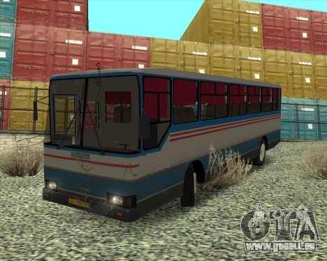 Autosan H10-11.11B pour GTA San Andreas vue arrière