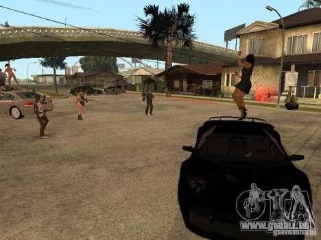 Pati auf Groove Street. für GTA San Andreas