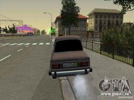 VAZ 2106 Taxi pour GTA San Andreas vue intérieure