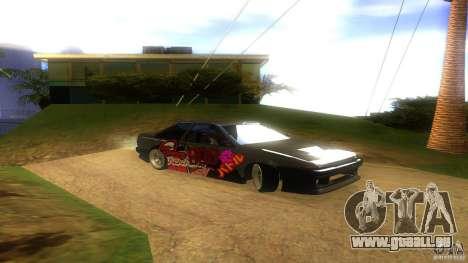Toyota AE86 Coupe - Final pour GTA San Andreas vue de droite