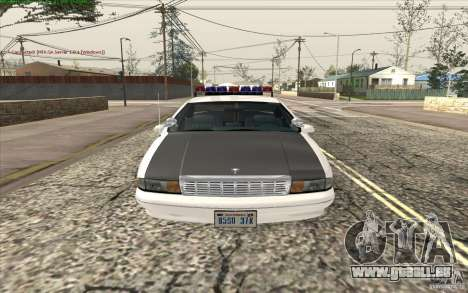Chevrolet Caprice Police für GTA San Andreas
