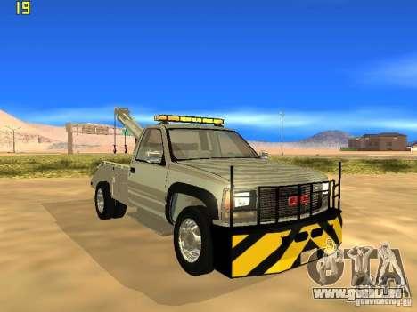GMC Sierra Tow Truck pour GTA San Andreas