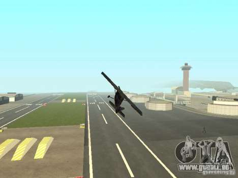 Ein neues Flugzeug-Dodo für GTA San Andreas obere Ansicht