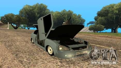 LADA Priora 2172 pour GTA San Andreas moteur
