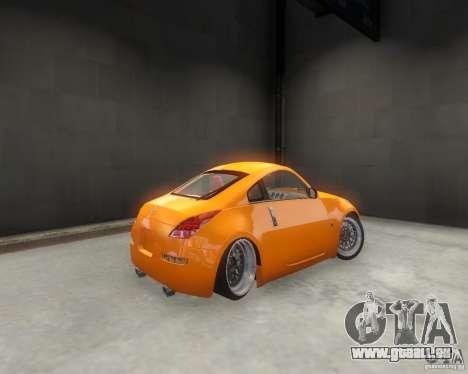 Nissan 350Z für GTA 4 hinten links Ansicht