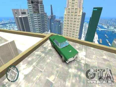 1965 Pontiac GTO pour GTA 4 est un droit