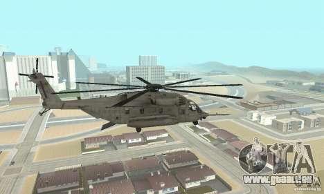 Sikorsky MH-53 für GTA San Andreas linke Ansicht