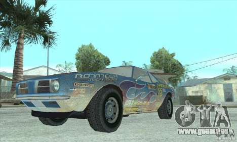 Speedevil von FlatOut für GTA San Andreas Rückansicht
