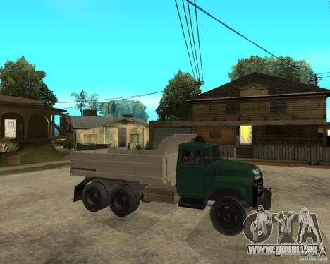 Camion à benne basculante 133 ZIL pour GTA San Andreas vue de droite