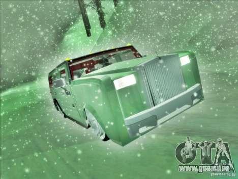 Hummer H2 Phantom für GTA San Andreas rechten Ansicht
